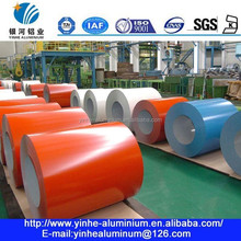 Pro-coated aluminum coil with two colors coated on both side for decoration indoor