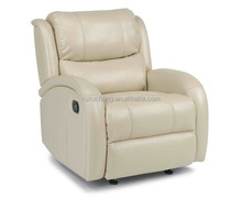 Modern italy top grain leather recliner chair cheap sofa new design relax chair