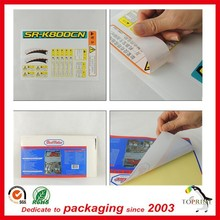 Factory price custom sticker printing logo print warranty with any size any design from Shenzhen