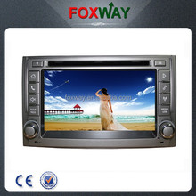 6.5Inch touch screen car audio car dvd player with gps navigation for Hyundai H1