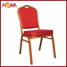 fabric padded stackable conference chair