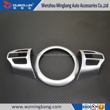 High Quality For 2015 Kia Sorento ABS Chrome Car Steering Wheel cover