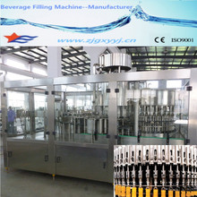 3 in 1 washer filler capper juice bottle filling machine in China