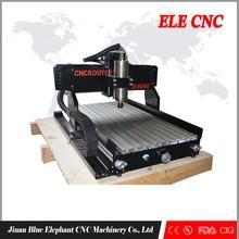 ELE 6040 cnc router for aluminium engraving/router cnc router 3d with CE, CIQ, FDA certification