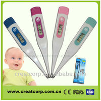 Best basa recording electronic thermometer with pen-like(DT114)