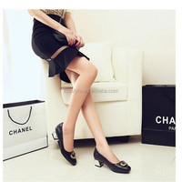 2014 new style ladies block heels shoes womens fashion chunky heels pumps shoes womens low heel dress shoes
