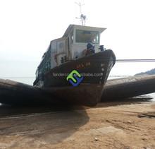 Heavy duty marine ship airbags Export to Batam shipyard
