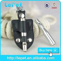 UltraSonic SuperSonic Adjustable Pitch 80mm Pet Dog Training Silent Whistle