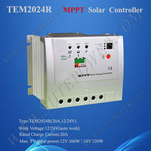 20A 12V/24V Auto MPPT Solar Charge Controller With Max PV Voltage 150V DC