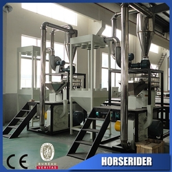 High output plastic powder grinder machine for promotion