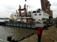 used floating crane in hot sale