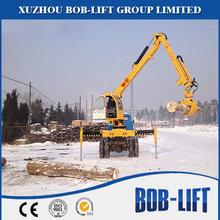 Hot Sale Hydraulic Mini Spider Crane Timber Forest with CE Certificate for Sale