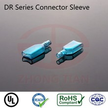 Soft PVC terminal sleeve for wire connector REACH RoHS UL listed
