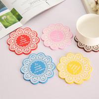 Korea style bar rubber mat,Low cost small MOQ custom rubber bar mat,Flower print silicone mat