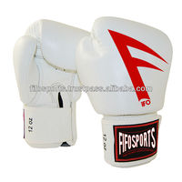 cheap boxing gloves 10 oz professional leather/ PU boxing glovewith customized logo