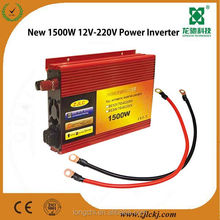 DC AC 1500W power inverter 12V/24V 110V/220V