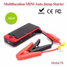 Vinsun T6 multi-functional portable car jump starter, 12000mah mini emergency engine starter