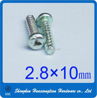 Different type of steel aluminum and stainless steel triangle screw with good quality