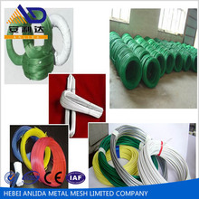 Anping factory supply various sizes and corlors cheap PVC Coated Iron Wire