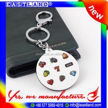 Smart Promotional Custom Plastic Round Key Tags