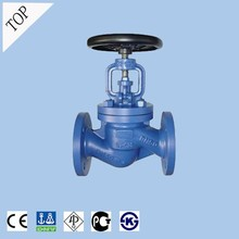 the largest manufacture valve factory DIN Flanged Cast Iron Globe Valve