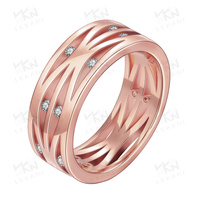 2015 New trend gold finger ring rings design for women with price