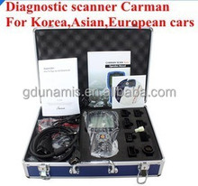 2015 New arrival Top Rated Free Shipping Professional diagnostic scanner Carman for Korea,Asian,European cars Carman Scan Lite