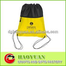nylon fashion small mesh drawstring bag made in China