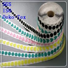2015 OEM and ODM welcomed imported adhesive velcro glue dots for kids shoes
