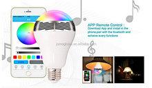 2015 intelligent wifi control rgbw bulb led/smart energy led bulbs light e27 7W