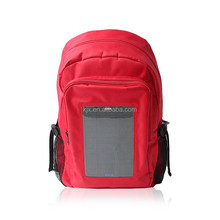 Customized Design Solar Charger Backpack with high quality solar panel ,fashional and durable solar backpack