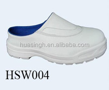 hospital used white uniform anti-bacterial sanitary shoes/clogs for nurse and doctor