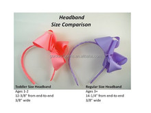 baby hair accessories/ bow headband