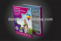 230g high glossy photo paper for eco-solvent,photo paper roll,photo paper wholesale