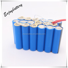 Enjoypower li-ion battery cylinder18650 battery rechargeable lithium polymer battery 2200mAh factory direct