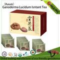 Ervas puro ganoderma( reishi) chá instantâneo