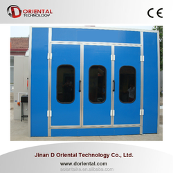 DOT-C8 car spray house for sales / paint booth used spray booth for sale