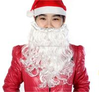 Christmas Santa White Party Fake Beard Moustache
