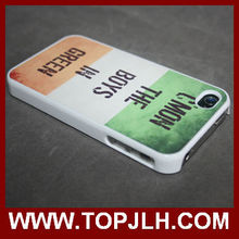 Custom 2D Mobile Case For iPhone 4