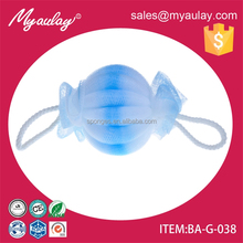 2015 Factory wholesale beautiful elegant Pumpkin baby bath net BA-G-038