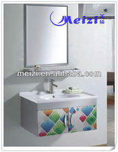 Romantic Stailess Steel bathroom vanity storage