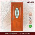fabricación experta puertas interiores de madera de vidrio esmerilado