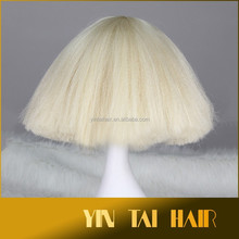 Kanekalon Synthetic Wig Cosplay wig & hair extension wholesale pric fluffy hair
