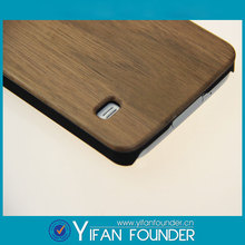 Natural walnut fashion trend pc wood phone case for samsung s5 wood case with black plastic
