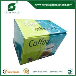 POPULAR CUSTOMIZED COFFEE&TEA POT PACKAGING BOX