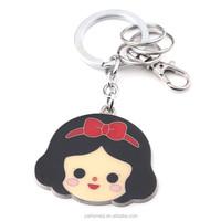 HOMEQI spiral key chain little girls gift red bow souvenir led flashlights keychain HQKC290427-2