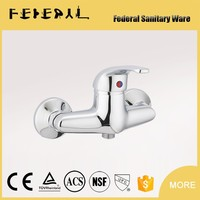 New Brass Flexible Wall Surface Mounted Shower Faucet For Bathroom