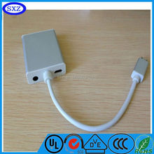 2015 white dvi cable dvi to scart mini dp to dvi cables hot selling