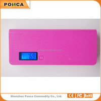 cheap price wholesale Universal for cell phone portable charger 15000mah power bank