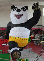 Kung Fu Panda inflatable mode/2m/3m/4m/5m/6m/7m/8m/Promotional inflatable animal W419